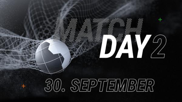 2. Spieltag - ab dem 30. September