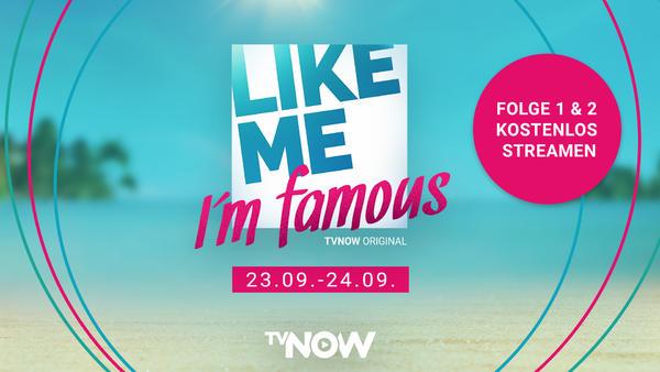 Like me - I'm famous