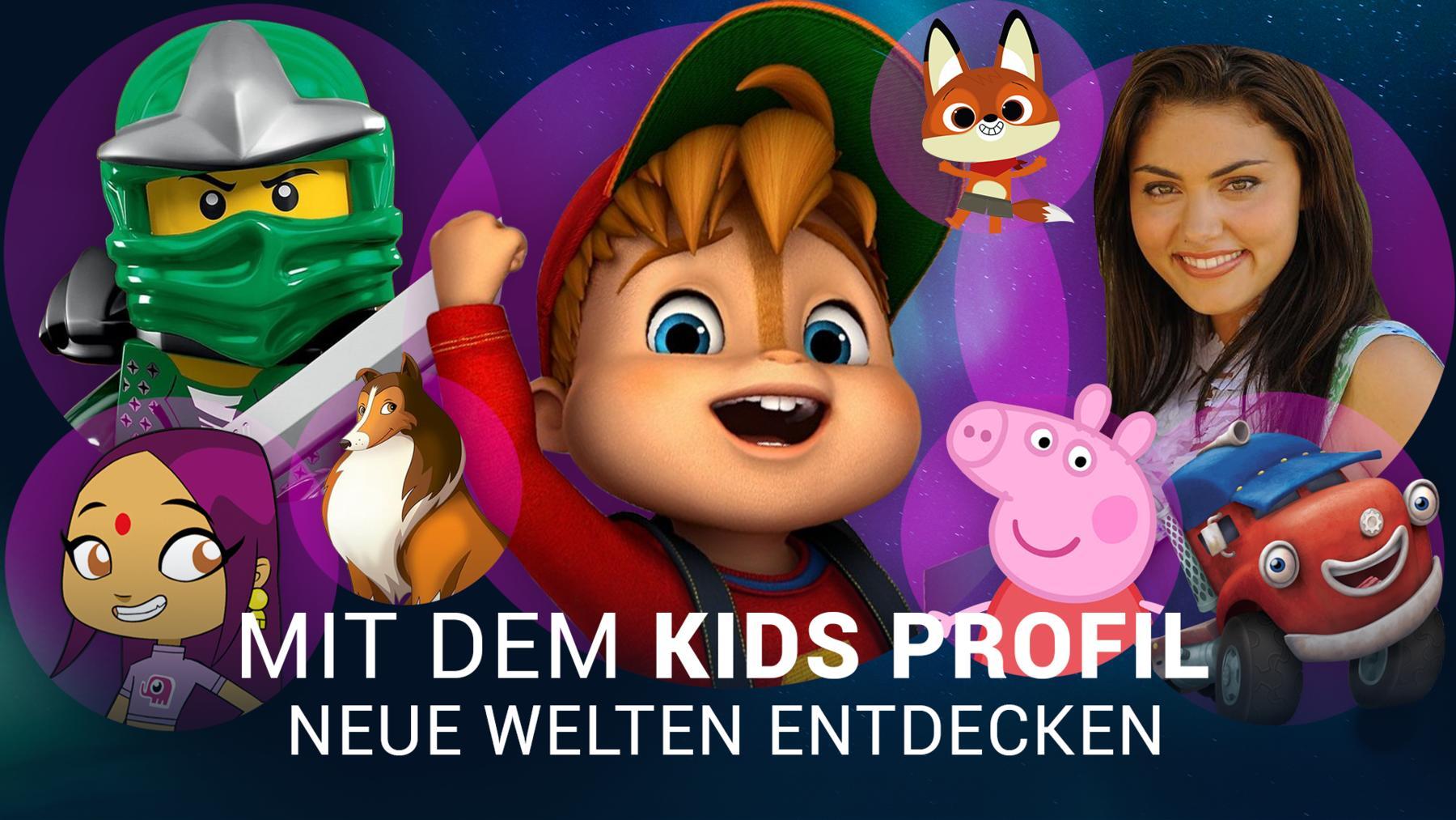 Jetzt Kids-Profil erstellen!
