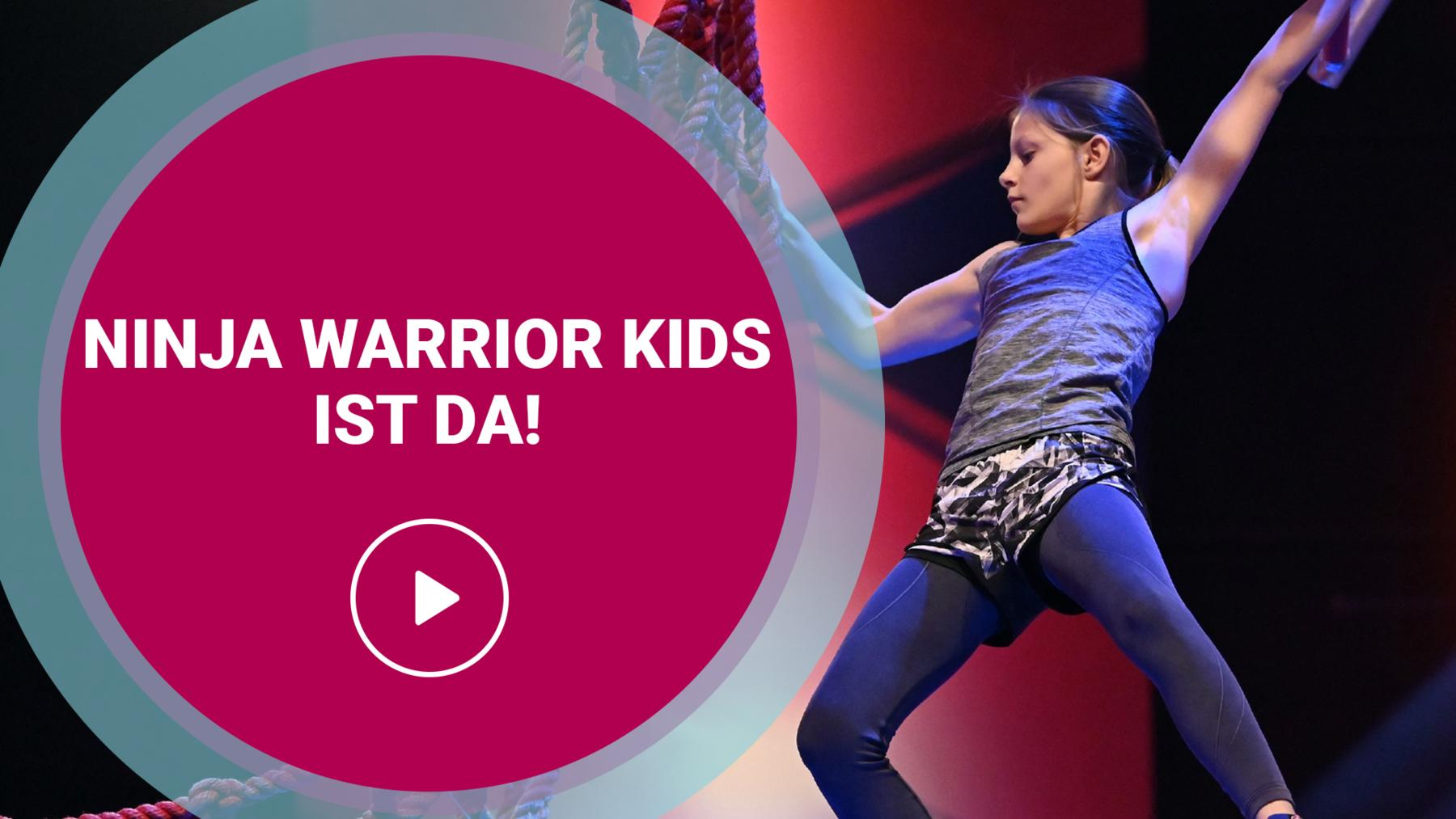 Ninja Warrior Germany Kids ist da!