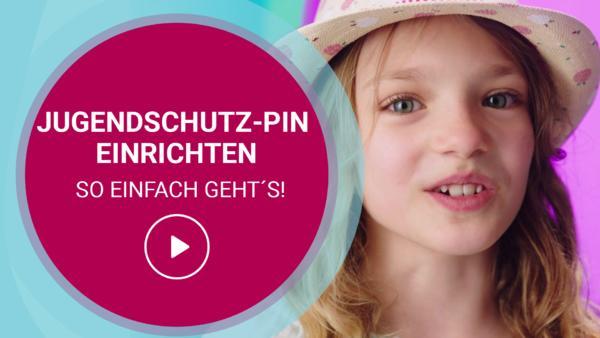 Jugendschutz-PIN einrichten