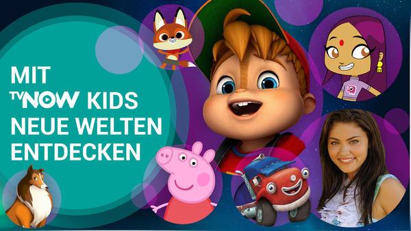 Jetzt TVNOW KIDS entdecken!