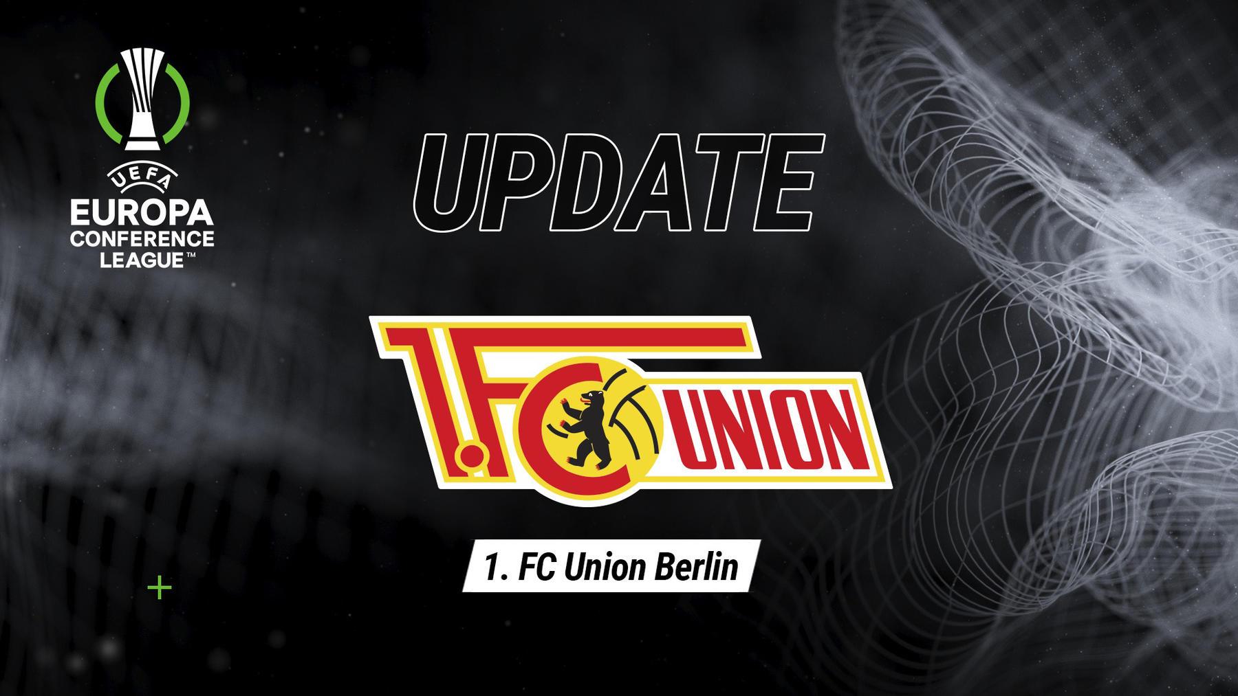 Update 1. FC Union Berlin