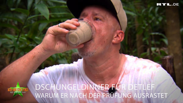 Detlef zu Besuch im Dschungel