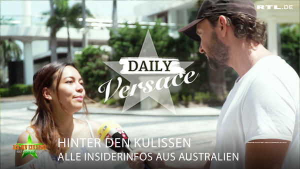 Daily Versace - Alle Insiderinfos aus Australien!
