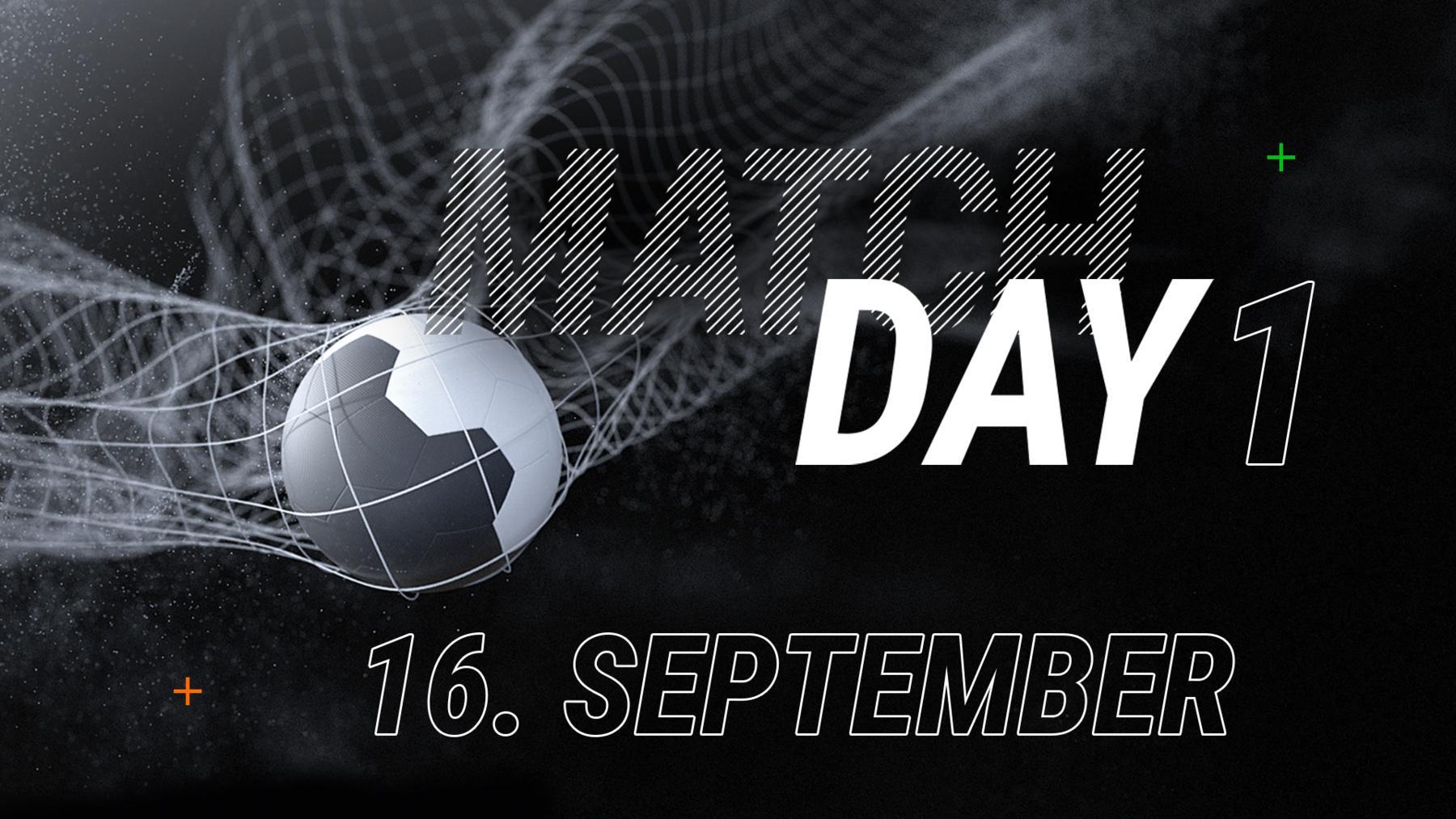 1. Spieltag - 16. September