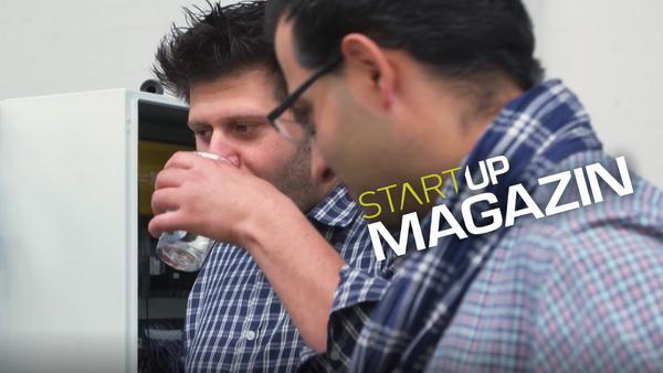 Start Up Magazin - Wie ein Startup Trinkwasser produziert
