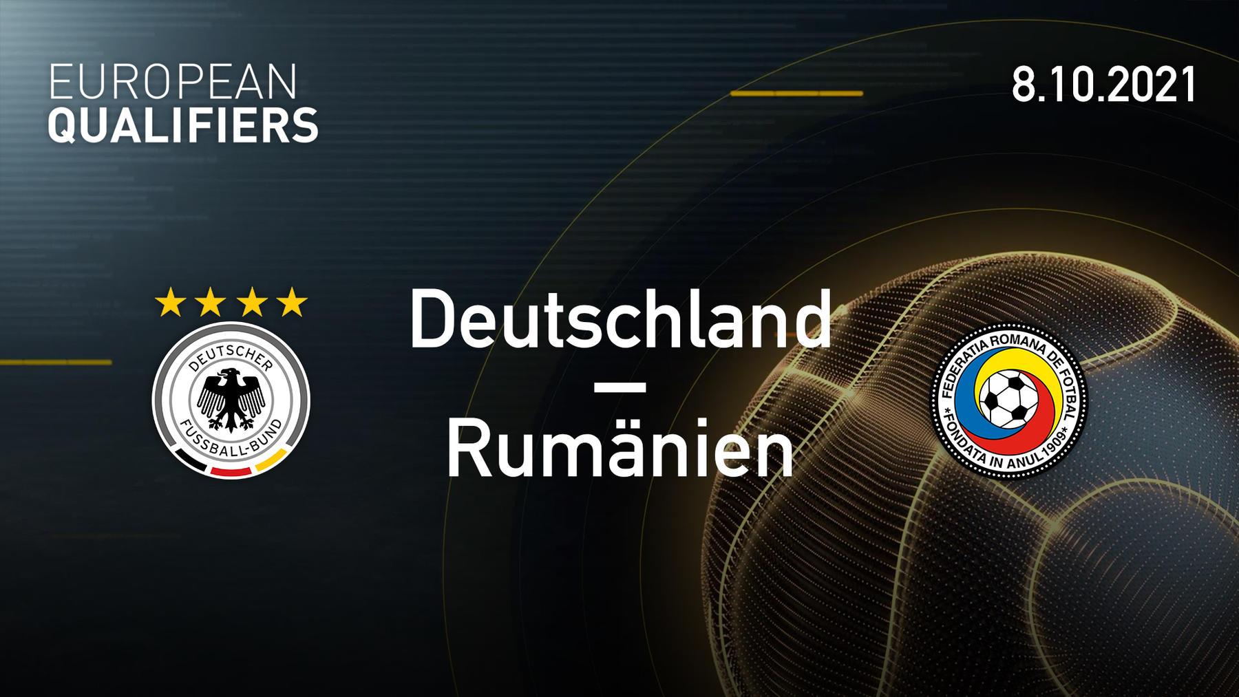 08.10.2021 - Deutschland vs. Rumänien