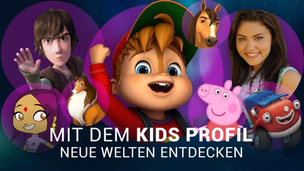 Kids-Profil erstellen