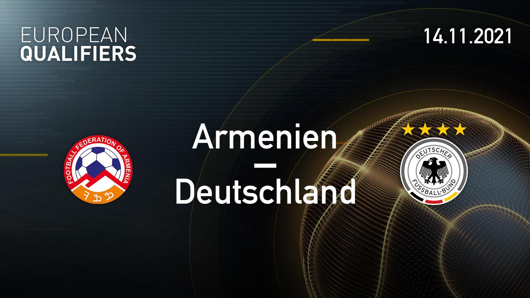 14.11.2021 - Armenien vs. Deutschland