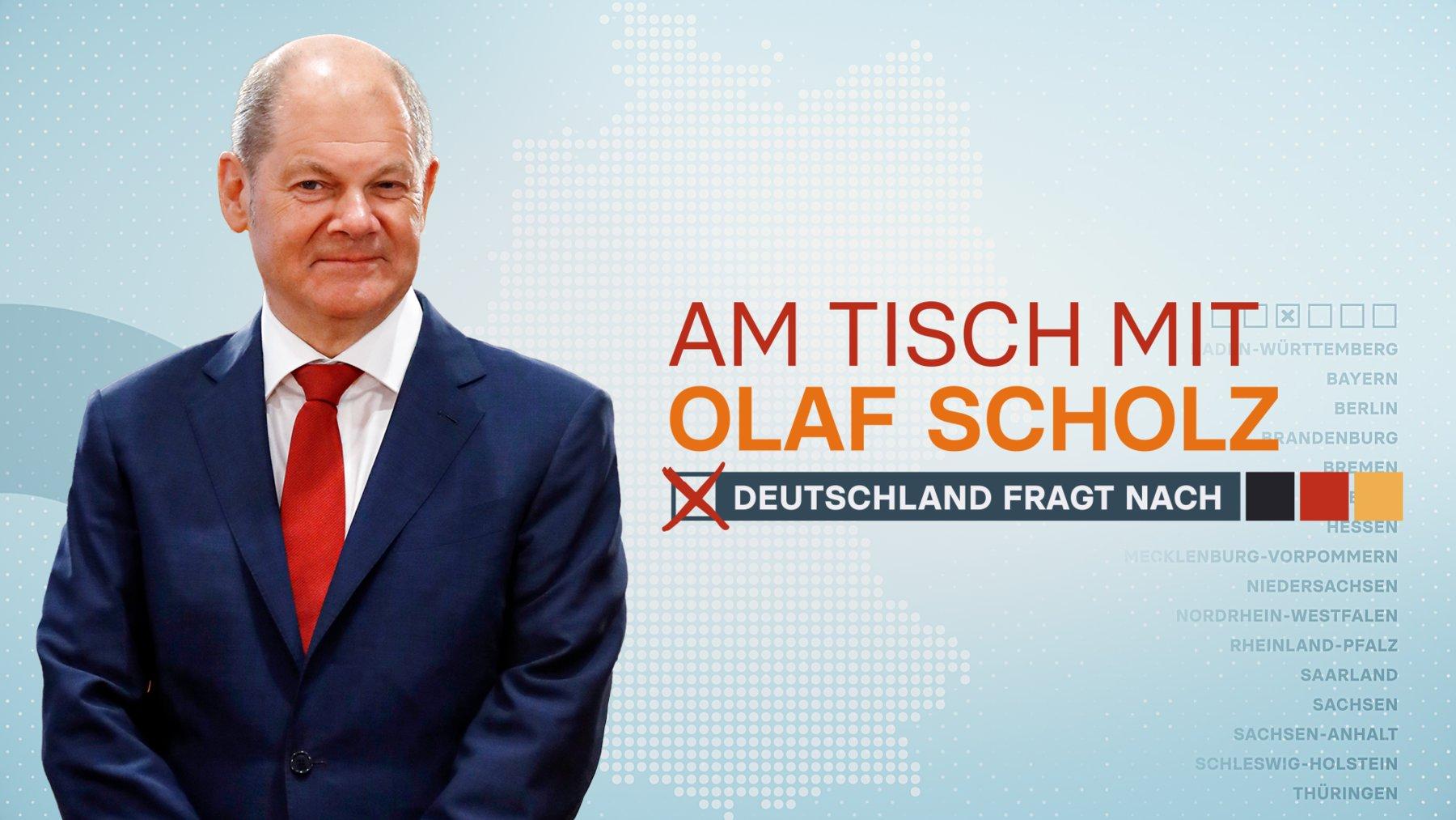 Am Tisch mit Olaf Scholz