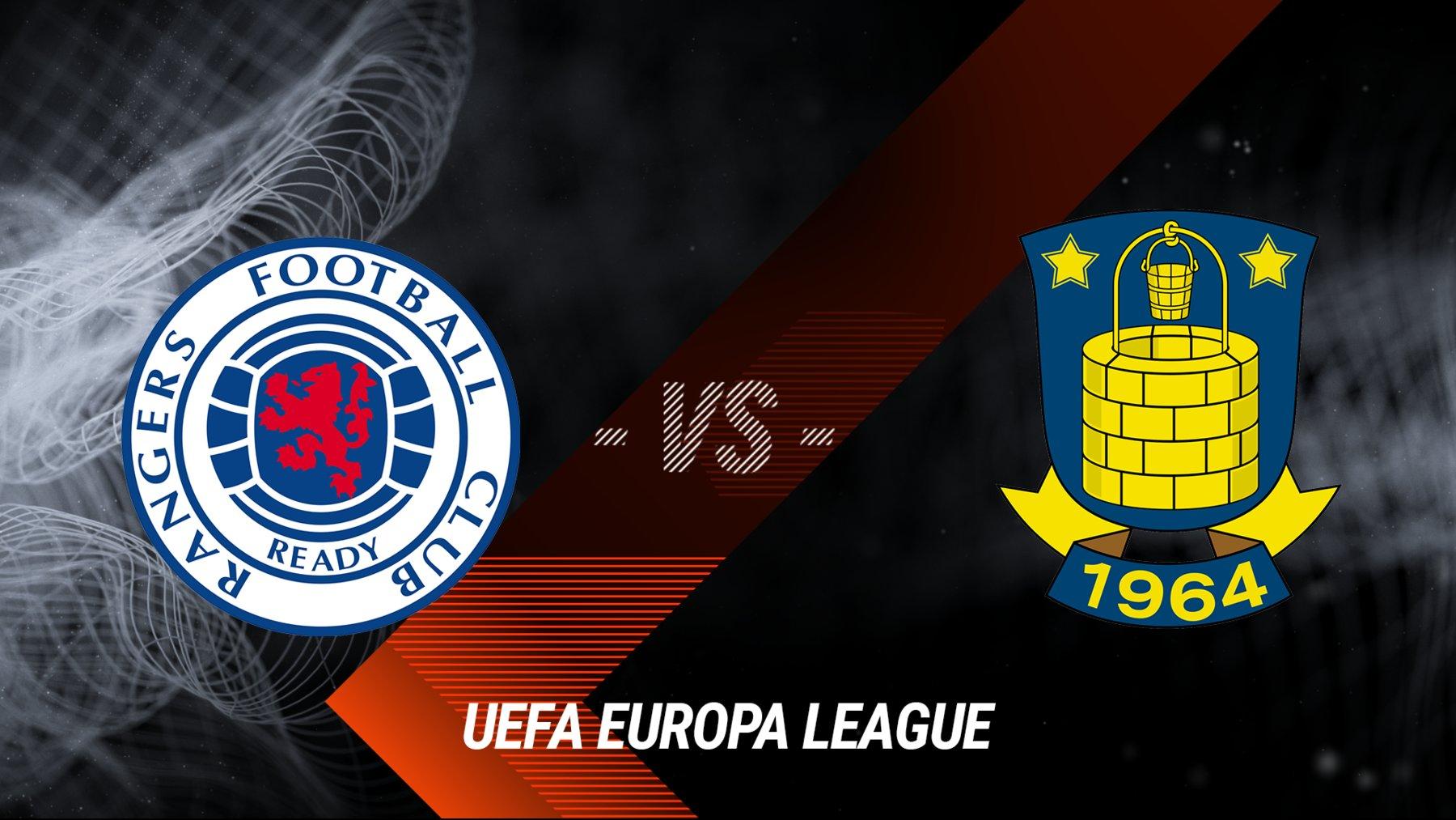 Glasgow Rangers vs. Bröndby IF