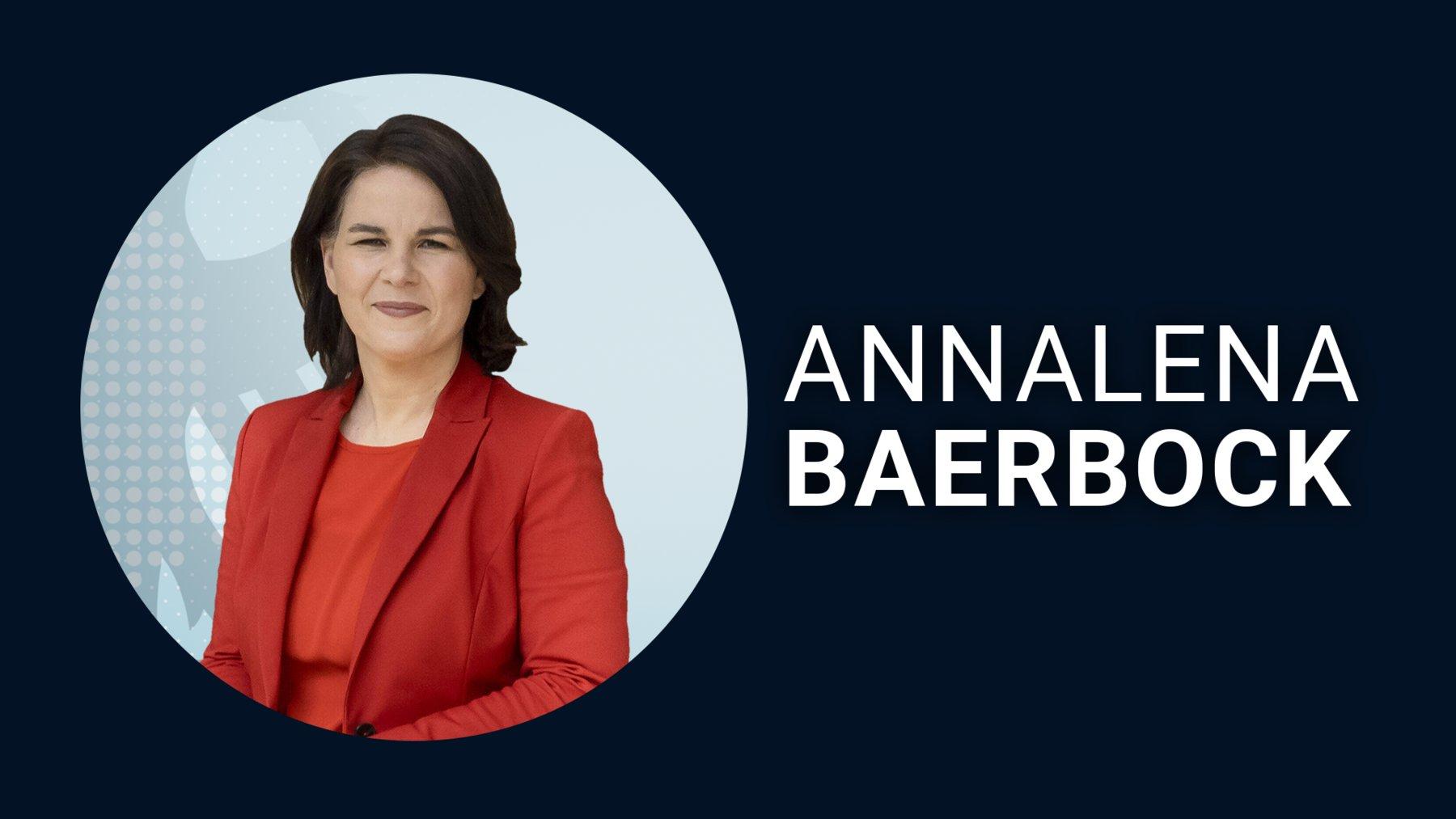 Annalena Baerbock für Bündnis90/Die Grünen