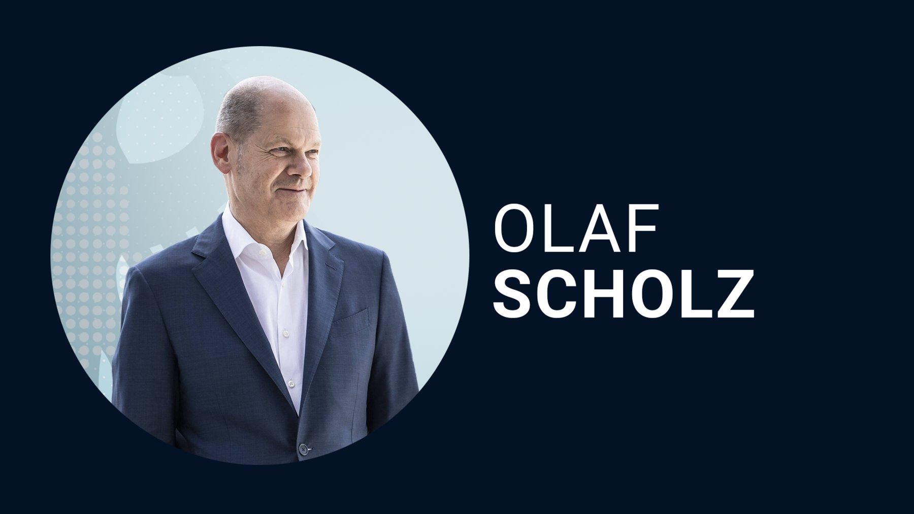 Olaf Scholz für die SPD