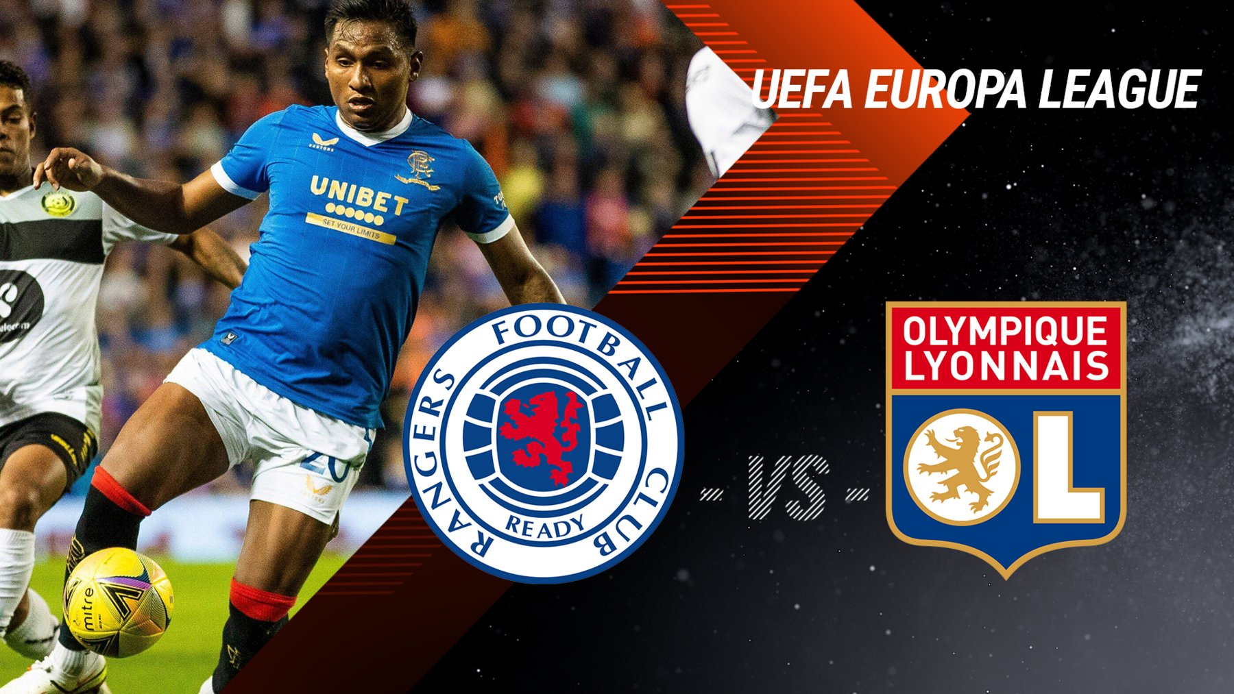Glasgow Rangers vs. Olympique Lyon