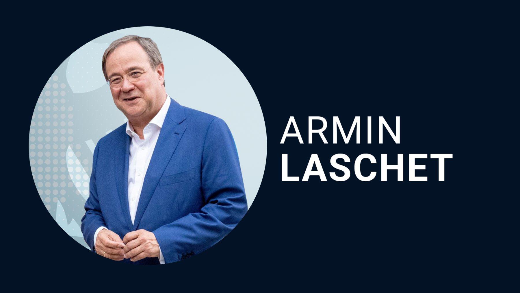 Armin Laschet für die CDU