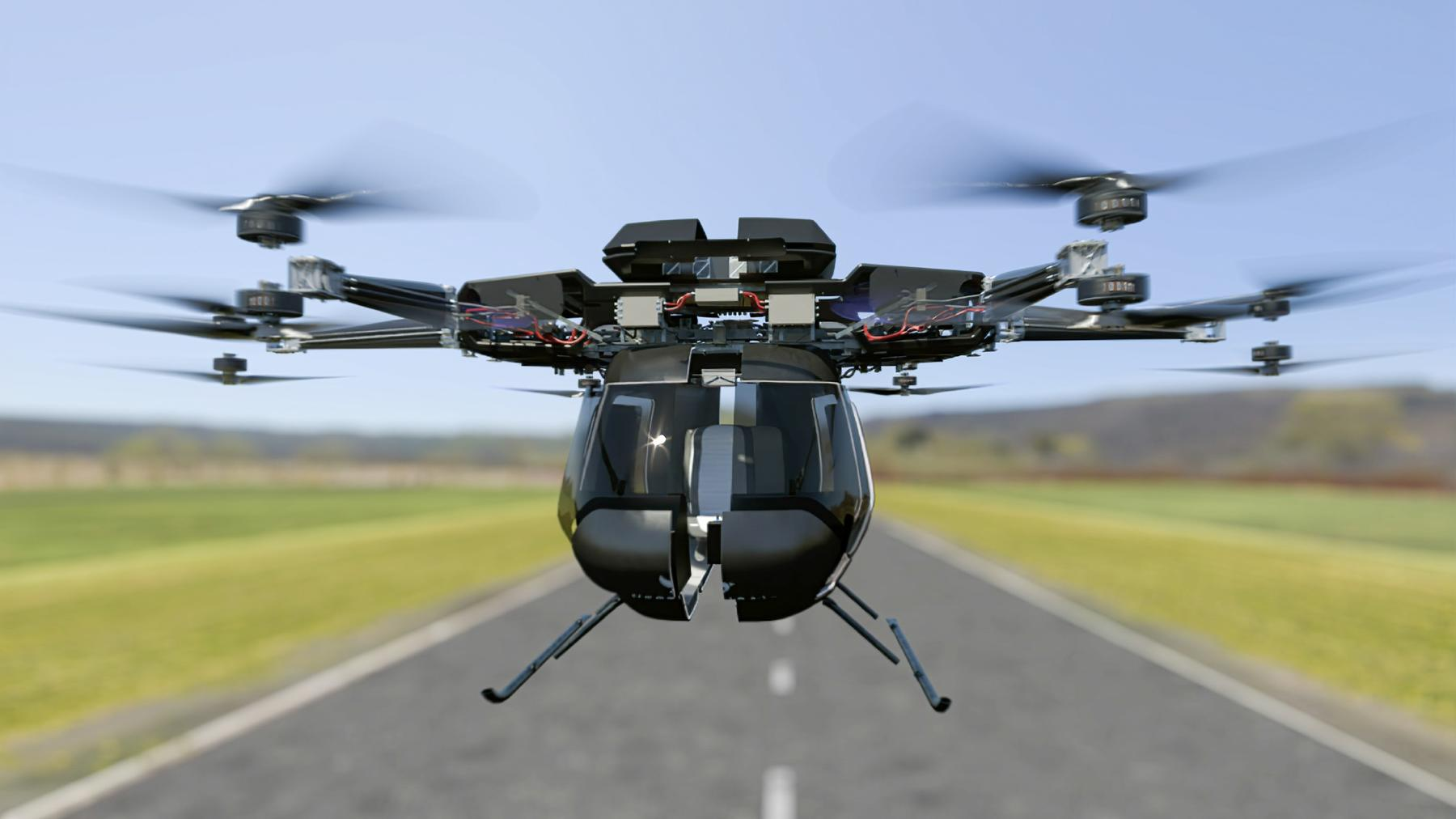 Super-Maschinen - Das fliegende Auto