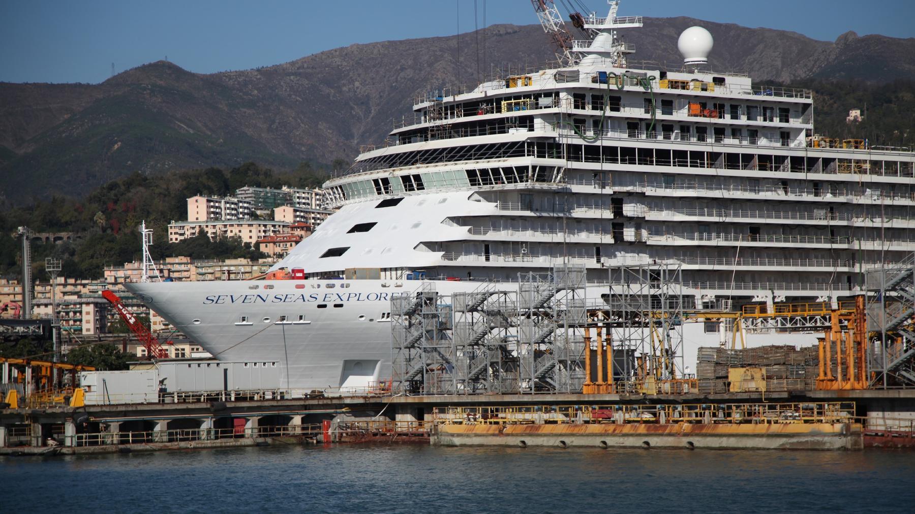 Schwimmender Luxus - Das Super-Schiff 1