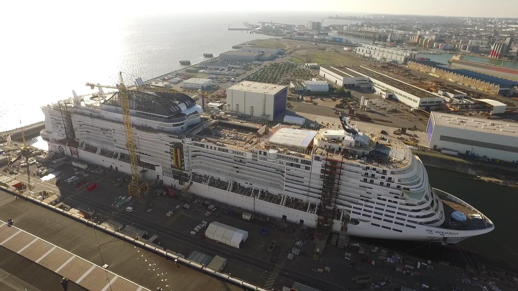 Mega-Bauten - Der Kreuzfahrt-Gigant