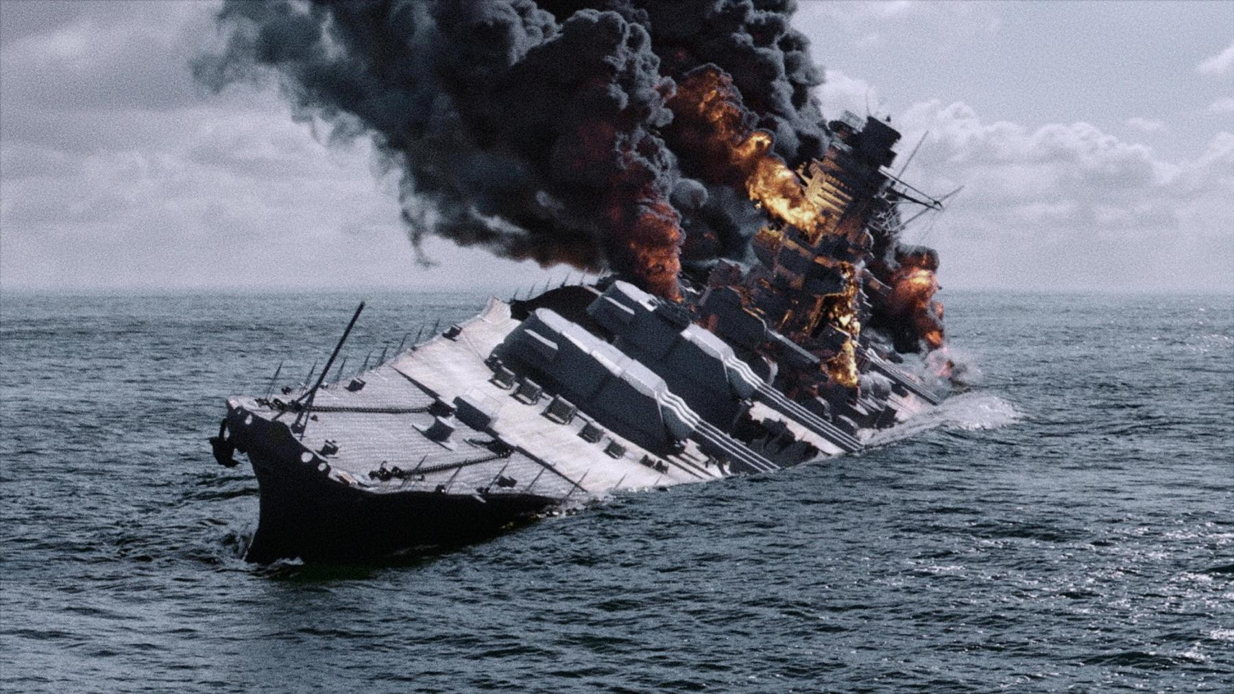 Kriegsschiffe - Das Schicksal der USS Texas