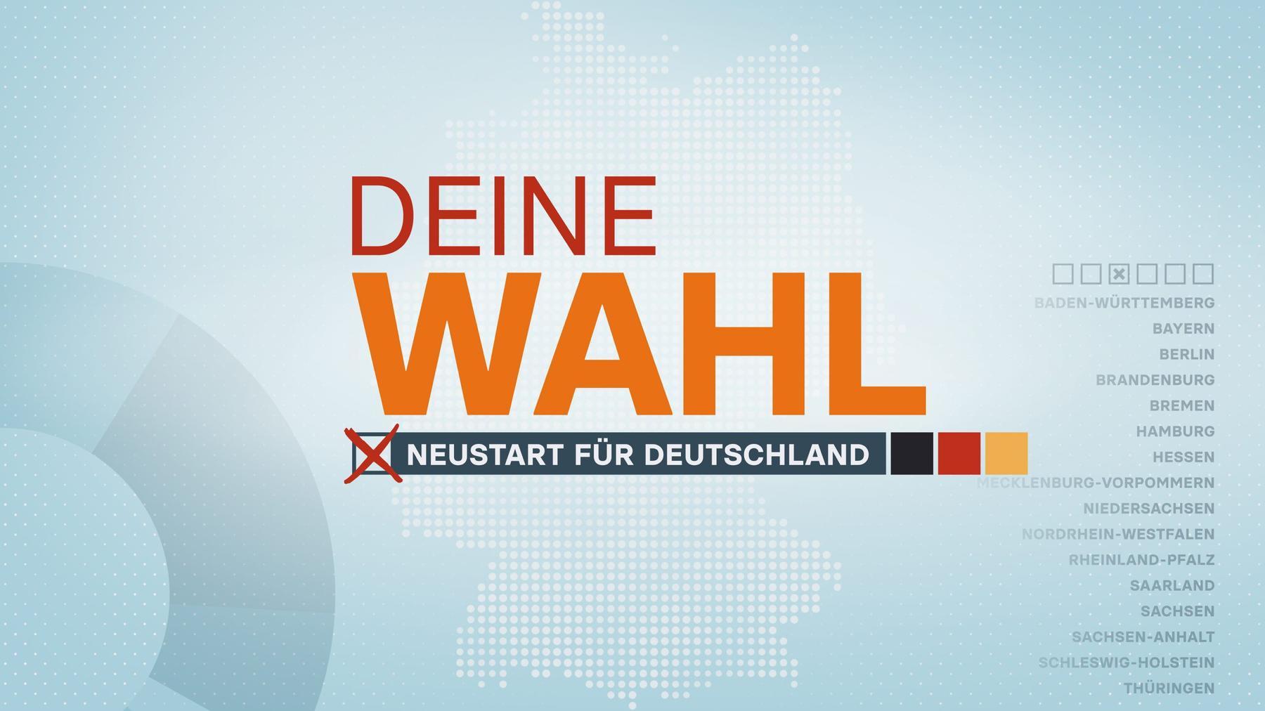 Neustart für Deutschland - Der Wahltag
