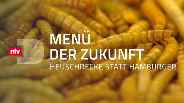 Menü der Zukunft - Heuschrecke statt Hamburger