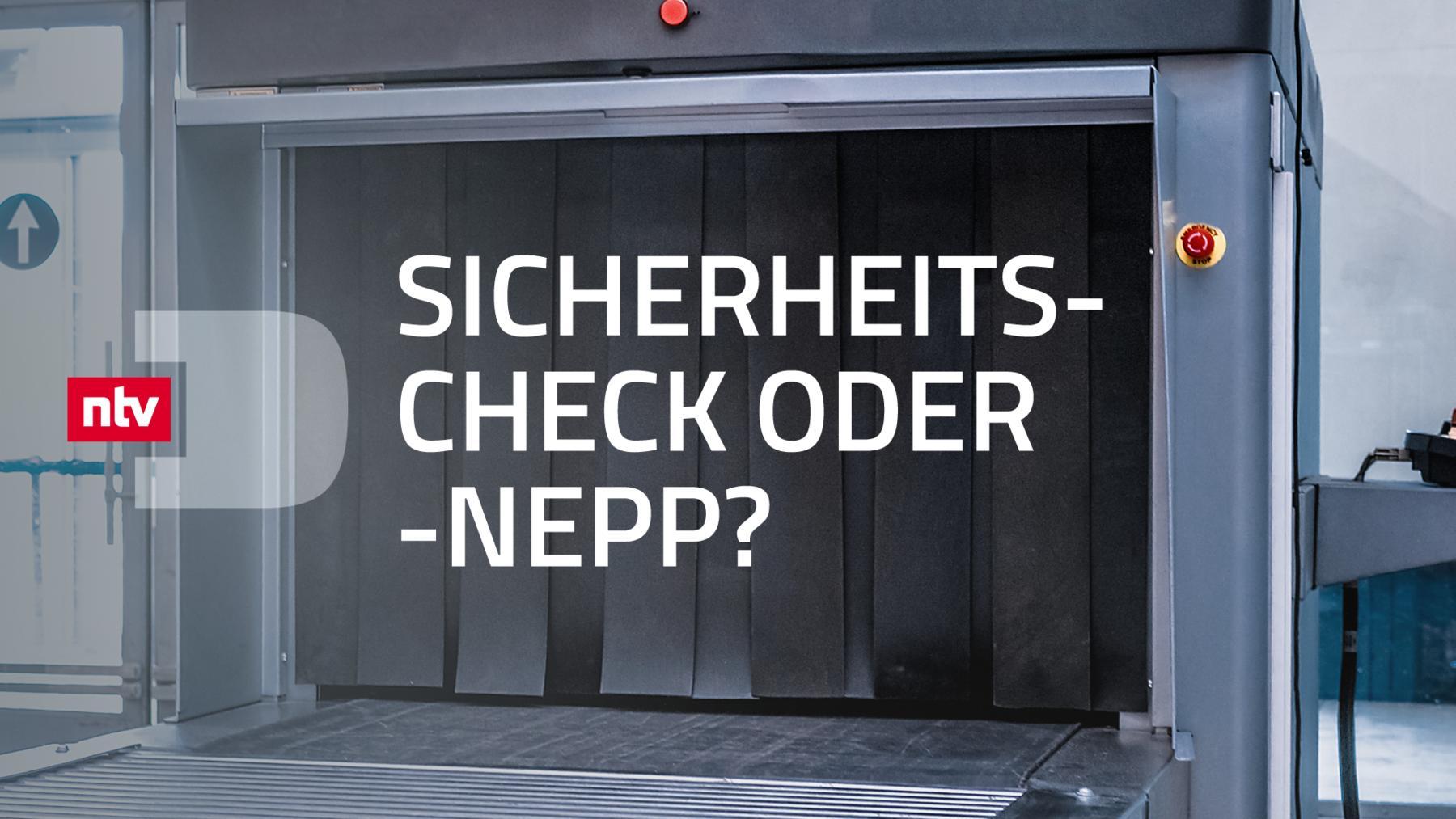 Sicherheitscheck oder Sicherheitsnepp?