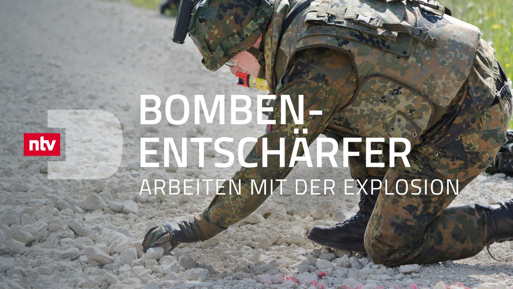 Bombenentschärfer - Arbeiten mit der Explosion