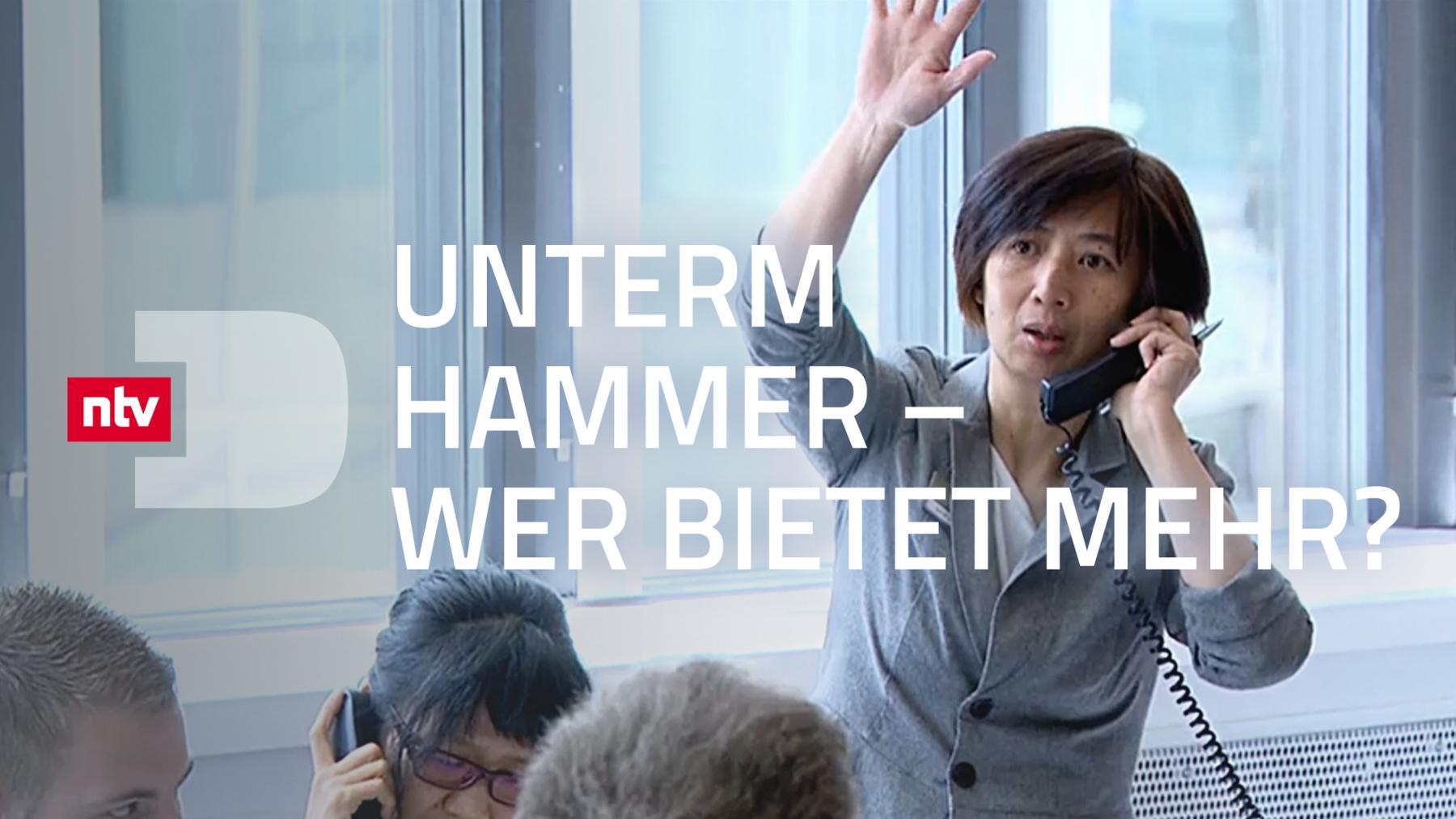Unterm Hammer - Wer bietet mehr?