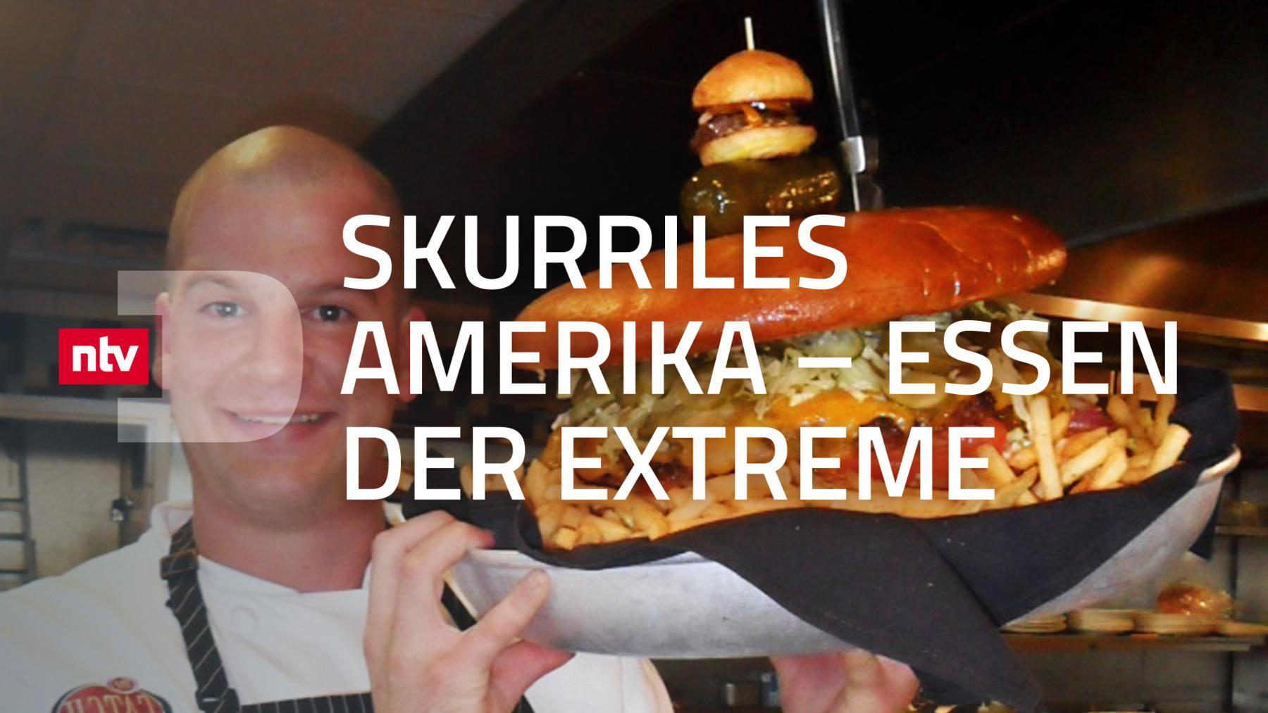 Skurriles Amerika - Essen der Extreme