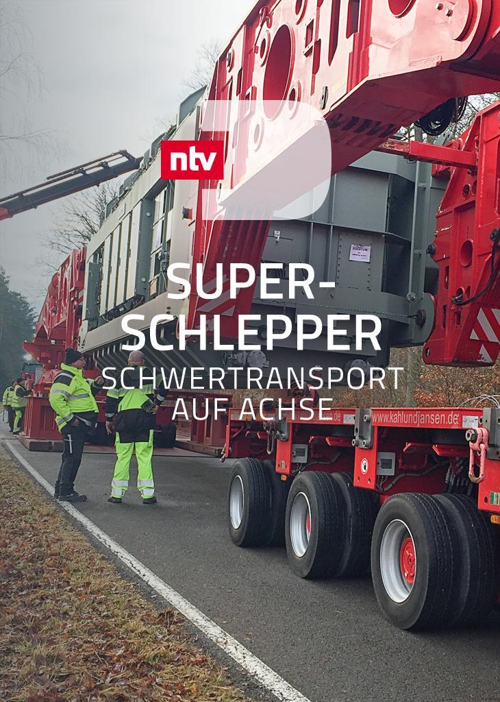 Super-Schlepper - Schwertransport auf Achse