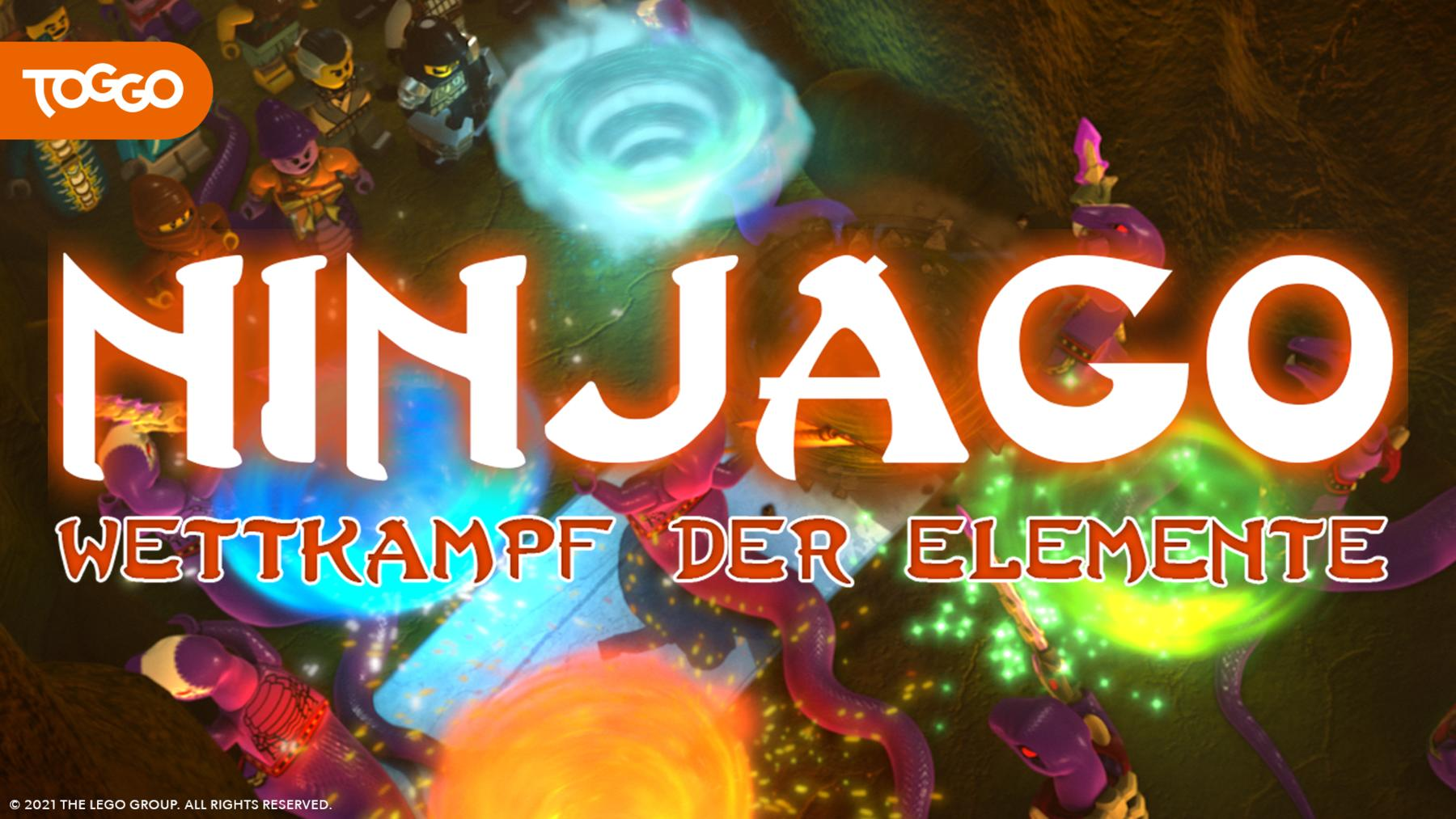 Ninjago - Wettkampf der Elemente