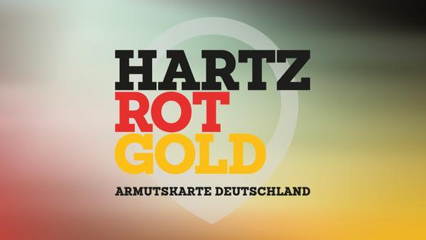 Hartz Rot Gold - Armutskarte Deutschland