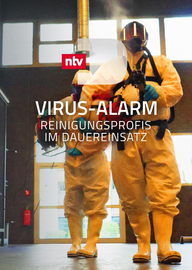 Viren-Alarm - Reinigungsprofis im Dauereinsatz