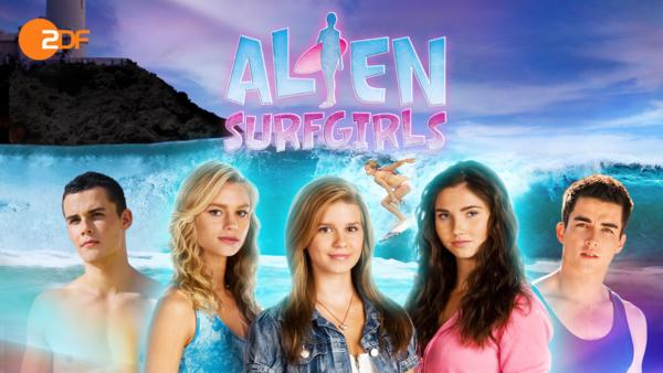 Alien Surfgirls