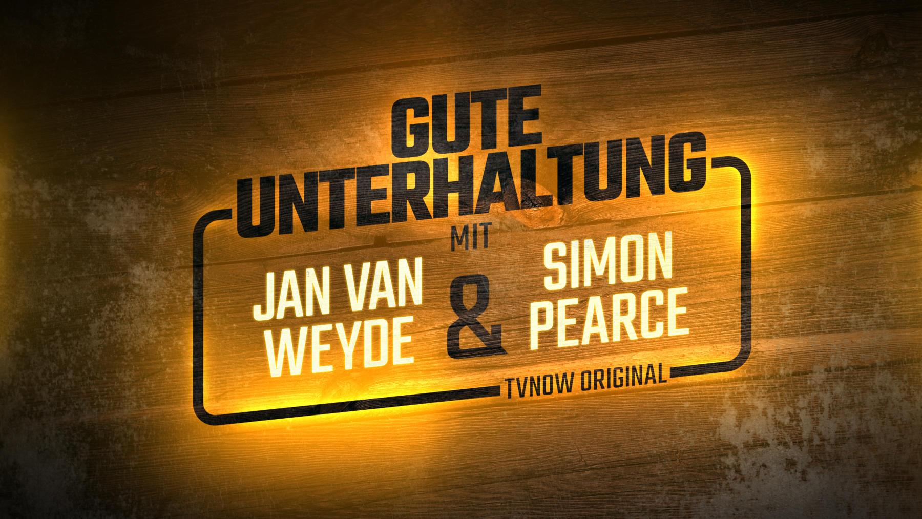 Gute Unterhaltung – mit Jan van Weyde und Simon Pearce