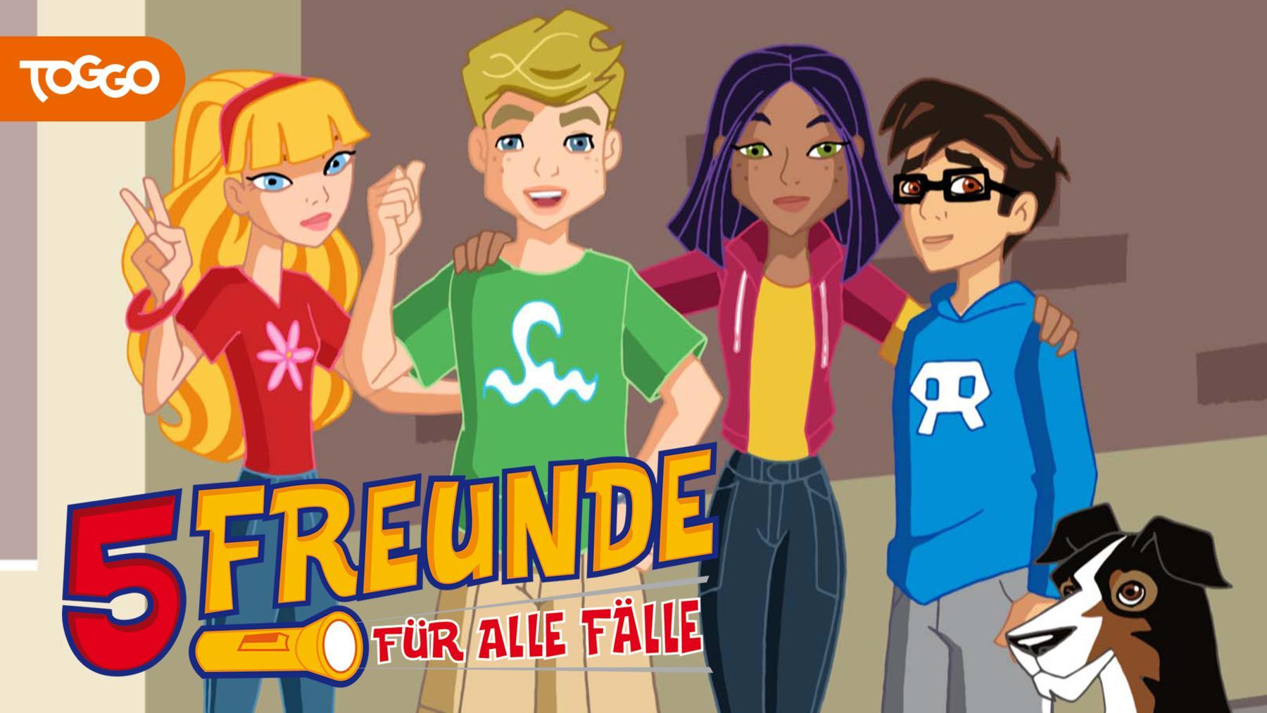 5 Freunde - Für alle Fälle