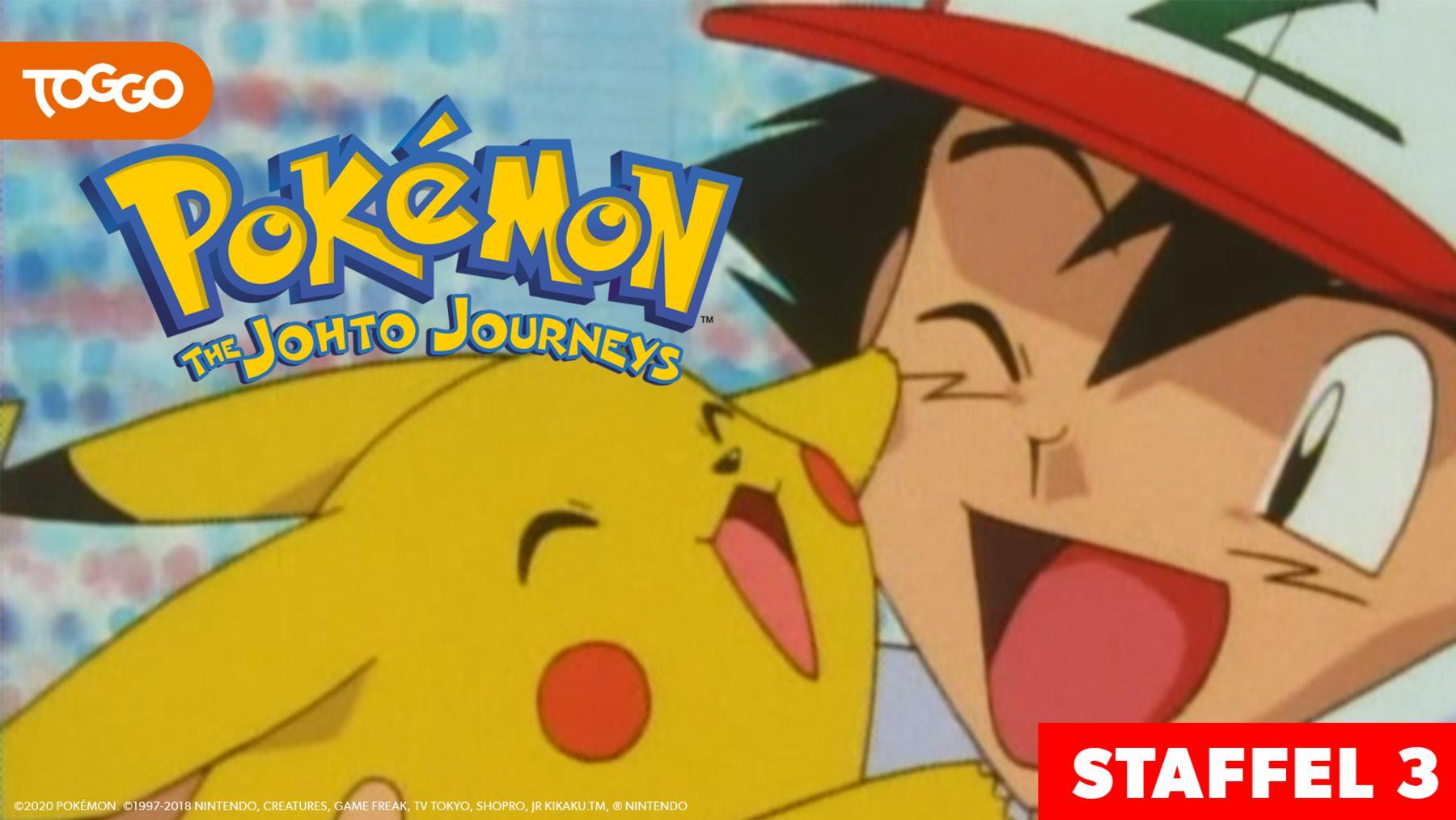 Pokémon: Die Johto Reisen / 3