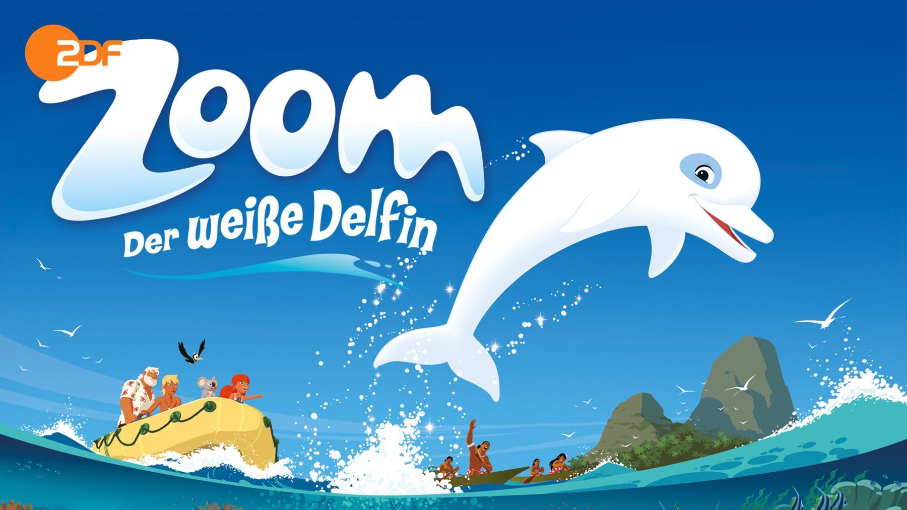 Zoom - der weiße Delphin