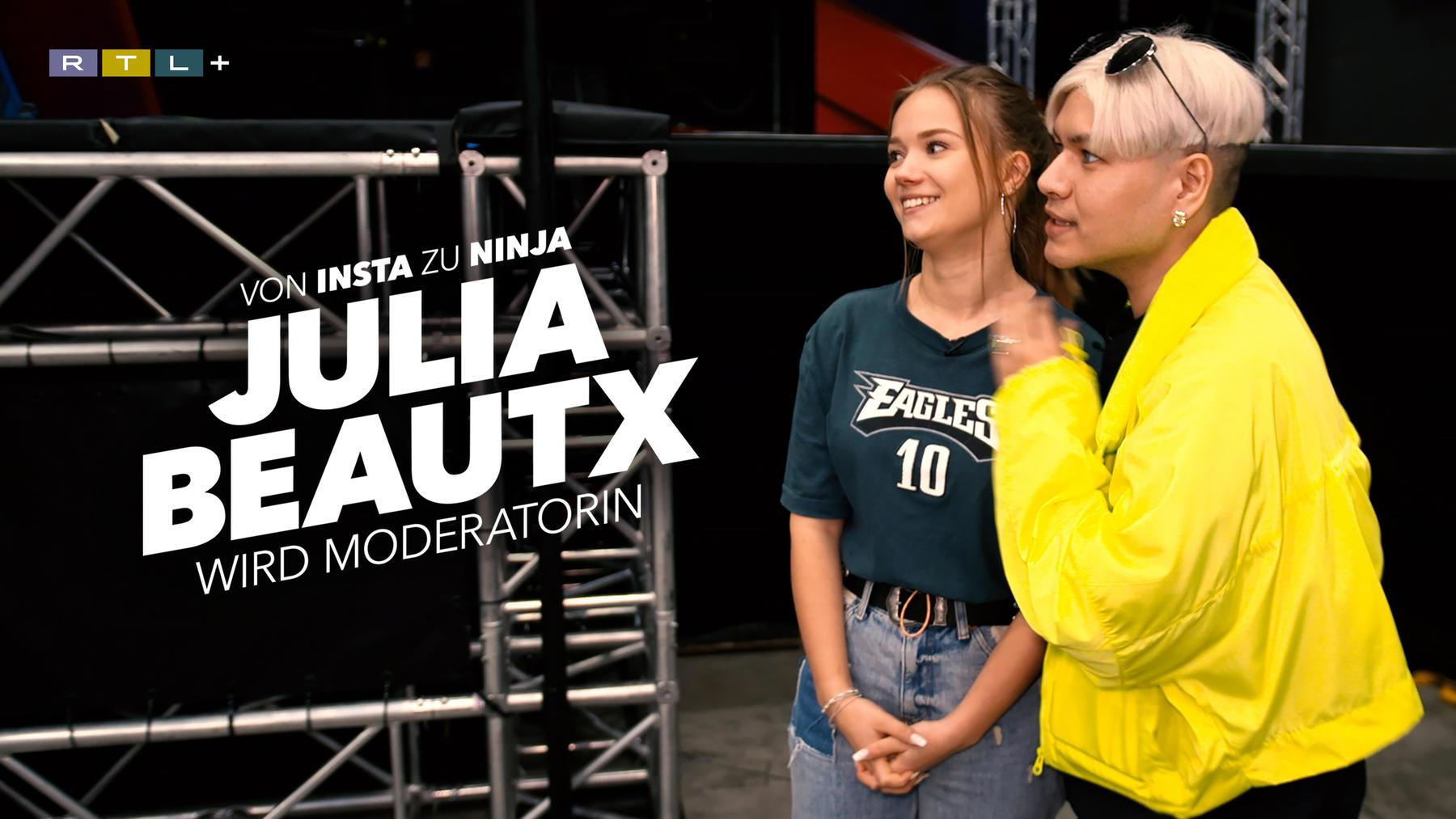 Von Insta zu Ninja - Julia Beautx wird Moderatorin