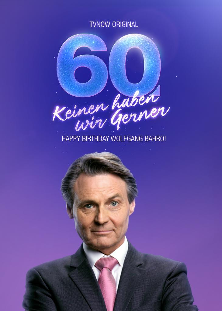 Keinen haben wir Gerner - Happy Birthday Wolfgang Bahro!