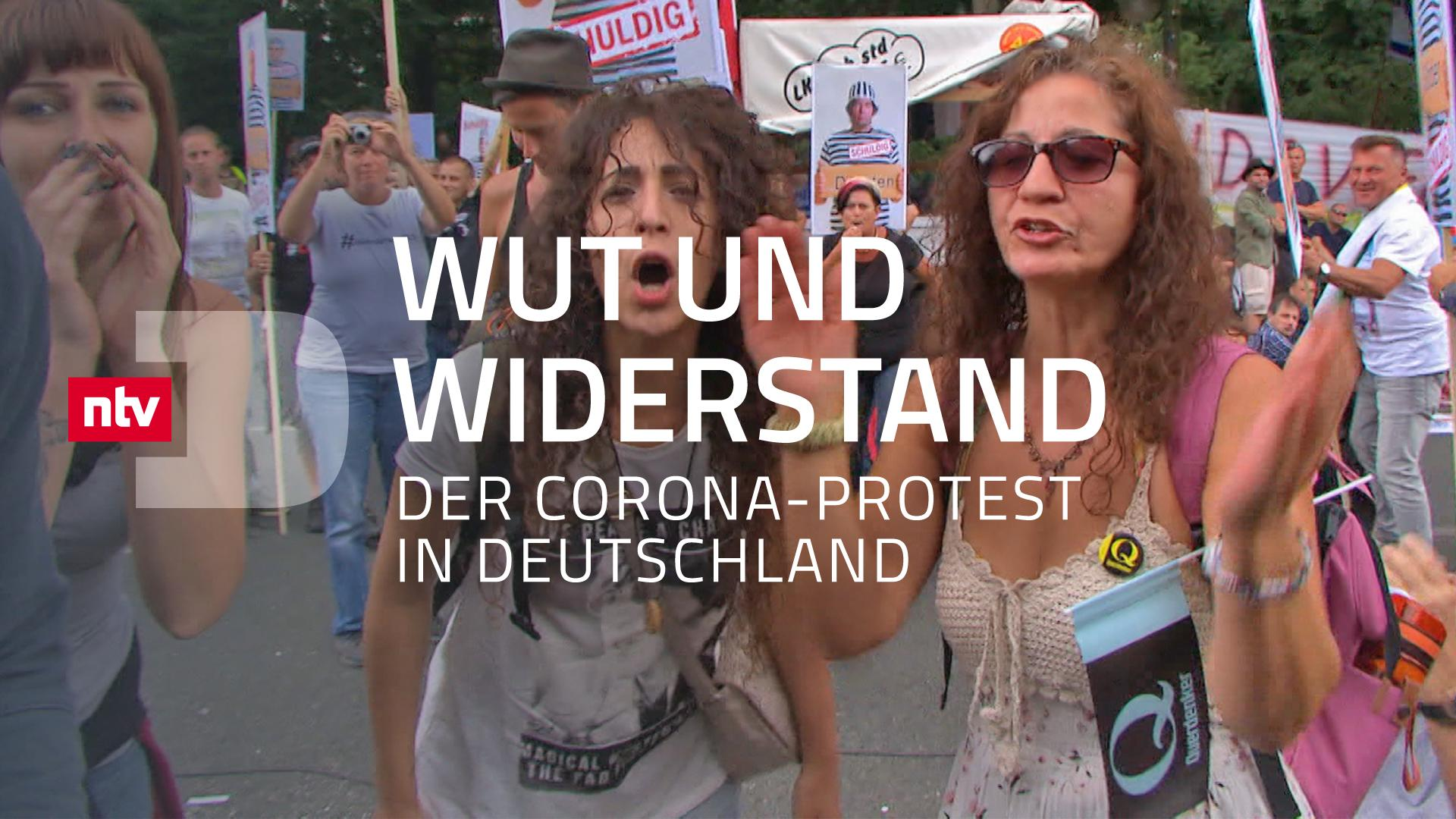 Wut und Widerstand - Der Corona-Protest in Deutschland