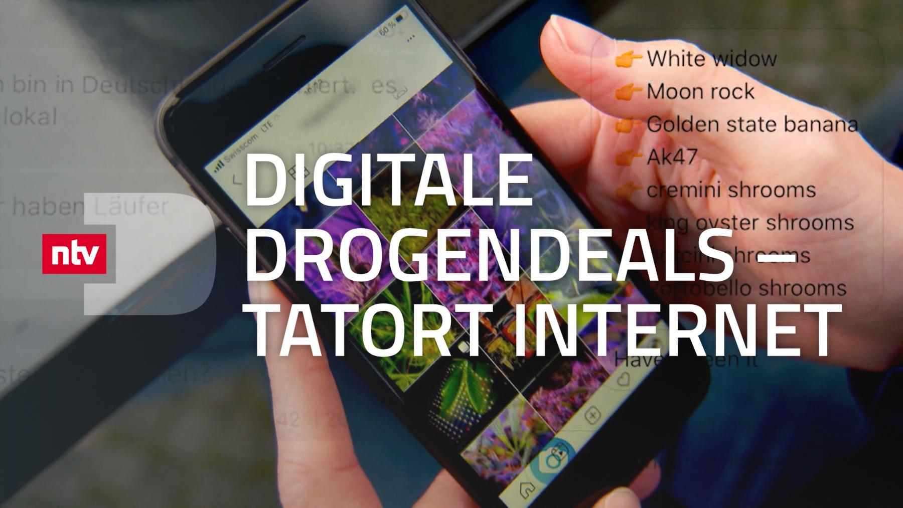 Digitale Drogendeals - Tatort Internet