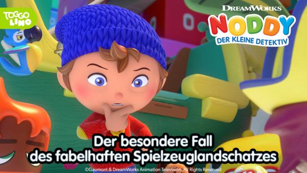 Noddy und der besondere Fall des fabelhaften Spielzeuglandschatzes