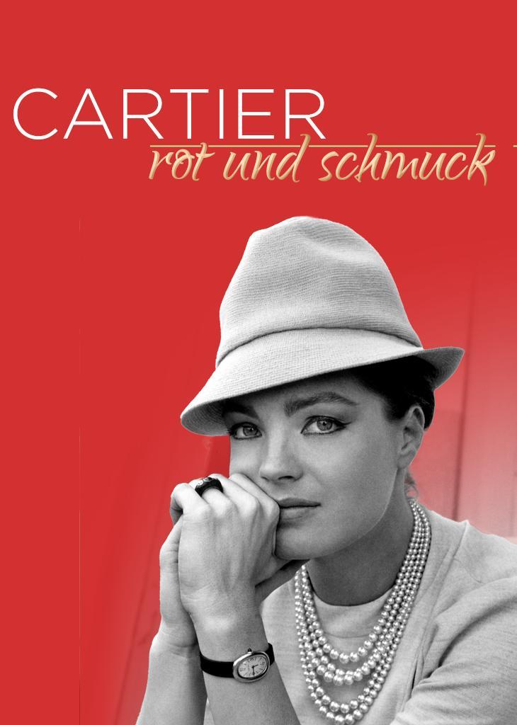 Cartier, rot und schmuck