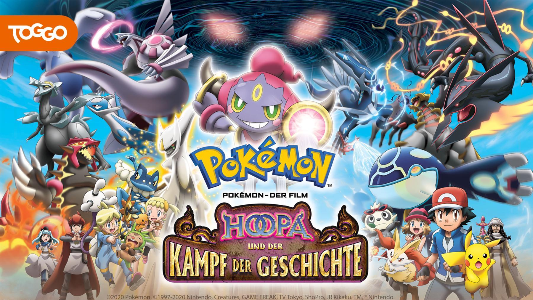 Pokémon 18: Hoopa und der Kampf der Geschichte