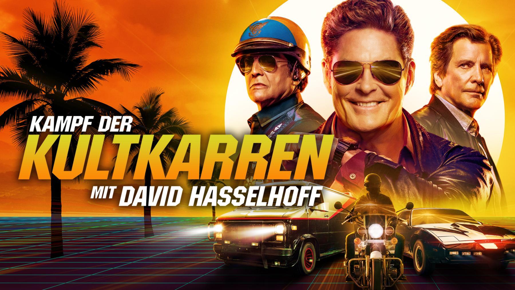 Kampf der Kultkarren mit David Hasselhoff