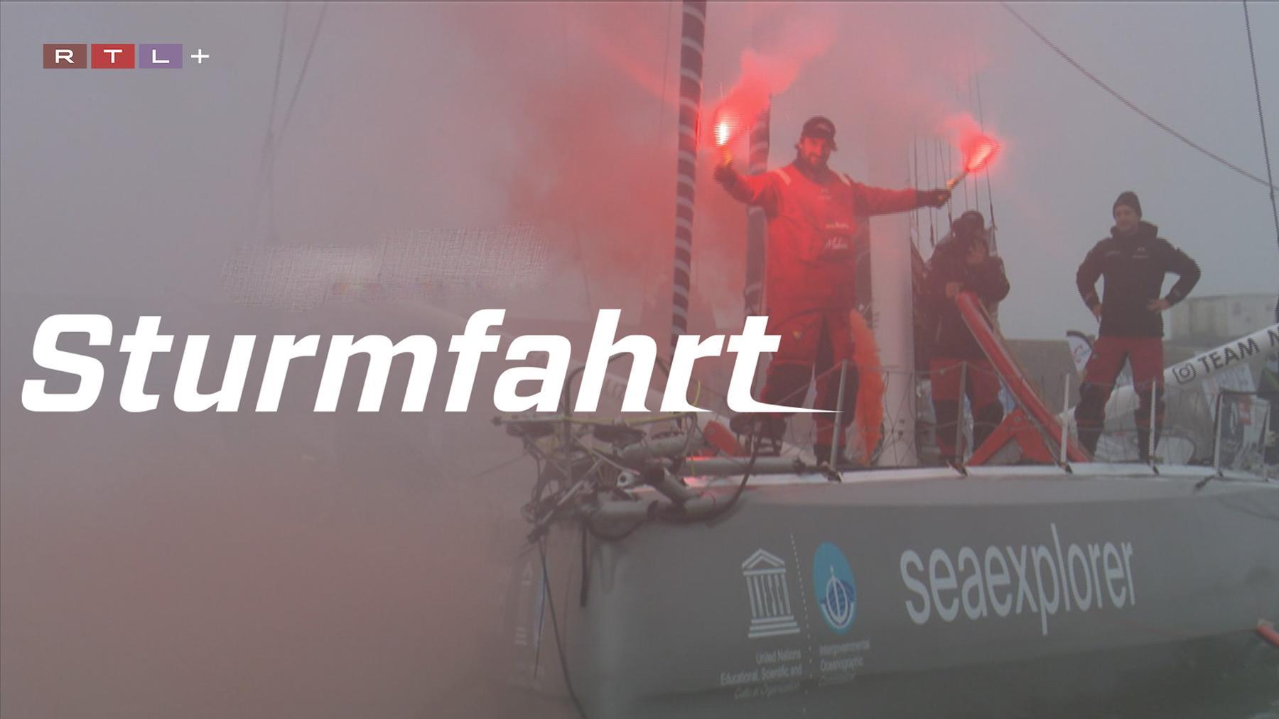 Sturmfahrt - Boris Herrmann auf der härtesten Segelregatta der Welt