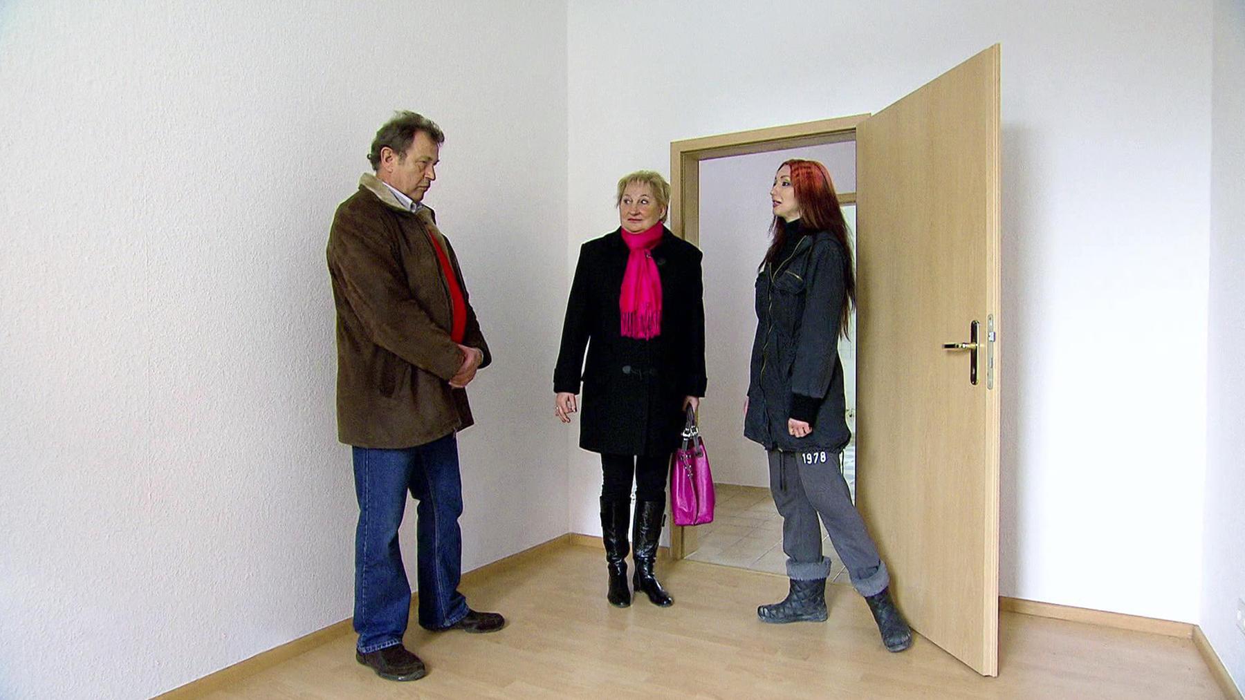 Besichtigung in Leipzig droht zu eskalieren