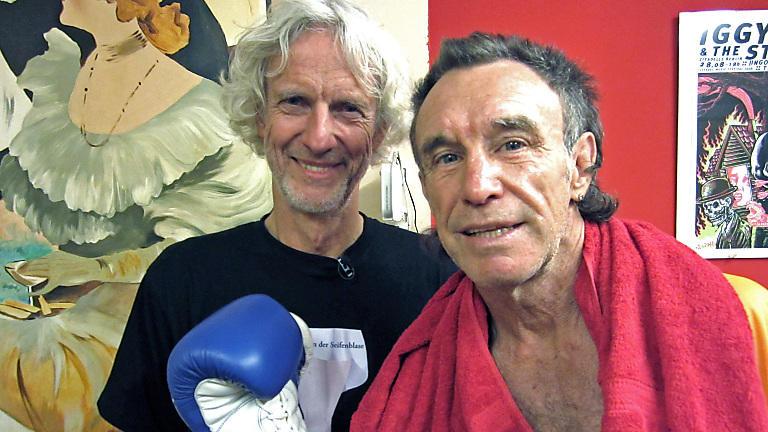 René Weller und Mathieu Carrière